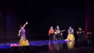Alegrias. Flamencostuudio FIESTA.