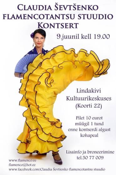 STUUDIO KEVADKONTSERT 9.JUUNI 2018 KELL 19.00 LINDAKIVI KULTUURIKESKUSE TEATRISAALIS